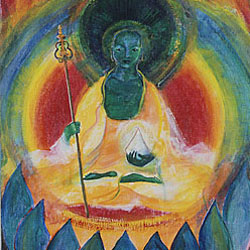 Painting: Kshitigarbha