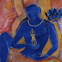 Painting: Peaceful Vajrapani
